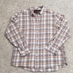 Very nice men's old navy vintage L flannel shirt
